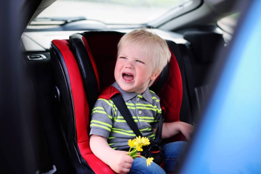 Texas Law for leaving a child alone in a hot car